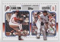 Steve Carlton, Jon Lester