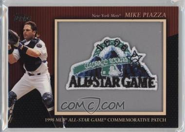 2010 Topps - Manufactured Commemorative Patch #MCP-134 - Mike Piazza