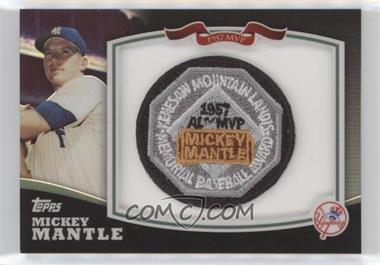 2010 Topps - Mickey Mantle Manufactured Patch #HOFMM2 - Mickey Mantle