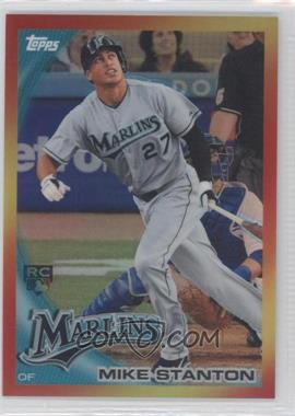2010 Topps - Redemption Red Hot Rookie #RHR-4 - Giancarlo Stanton