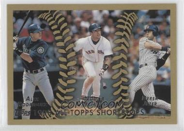 2010 Topps - The Cards Your Mom Threw Out - Original Back #452 - Alex Rodriguez, Nomar Garciaparra, Derek Jeter