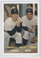 Mickey Mantle, Yogi Berra