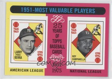 2010 Topps - The Cards Your Mom Threw Out #CMT140 - Yogi Berra, Roy Campanella