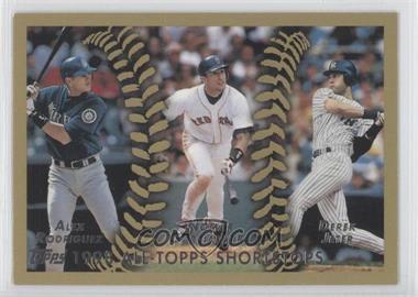 2010 Topps - The Cards Your Mom Threw Out #CMT164 - 1998 All-Topps Shortstops (Alex Rodriguez, Nomar Garciaparra, Derek Jeter)