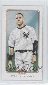 2010 Topps 206 - [Base] - Mini Cycle Back #162 - Derek Jeter /99