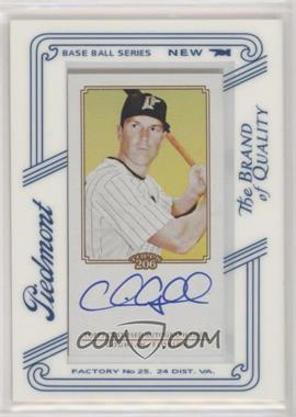 2010 Topps 206 - [Base] - Mini Piedmont Framed Autographs [Autographed] #TA-CC - Chris Coghlan