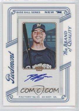 2010 Topps 206 - [Base] - Mini Piedmont Framed Autographs [Autographed] #TA-RB - Ryan Braun