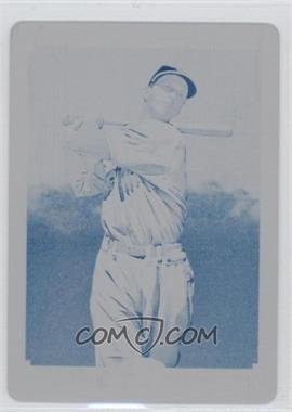 2010 Topps 206 - [Base] - Printing Plate Cyan #343 - Stan Musial /1