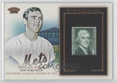 2010 Topps 206 - Stamp Collection #SR-49 - Nolan Ryan