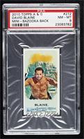 David Blaine [PSA 8 NM‑MT] #/25