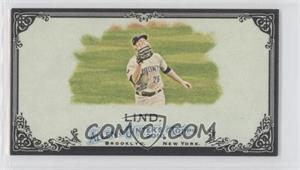 2010 Topps Allen & Ginter's - [Base] - Minis Black Border #1 - Adam Lind