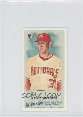 2010 Topps Allen & Ginter's - [Base] - Minis Rip Card High Numbers #401 - Stephen Strasburg