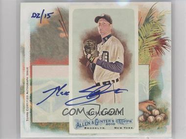 2010 Topps Allen & Ginter's - Box Loader N43 - Certified Autograph [Autographed] #N43BA-MS - Max Scherzer /15