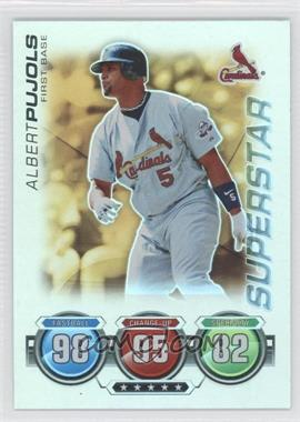 2010 Topps Attax - [Base] - Gold Foil #ALPU - Albert Pujols