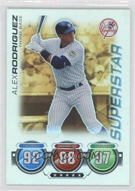 2010 Topps Attax - [Base] - Gold Foil #ALRO - Alex Rodriguez