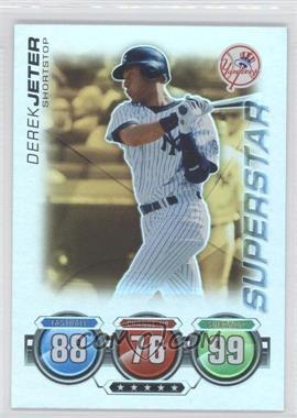 2010 Topps Attax - [Base] - Gold Foil #DEJE - Derek Jeter