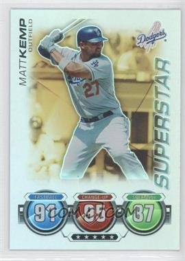 2010 Topps Attax - [Base] - Gold Foil #MAKE - Matt Kemp