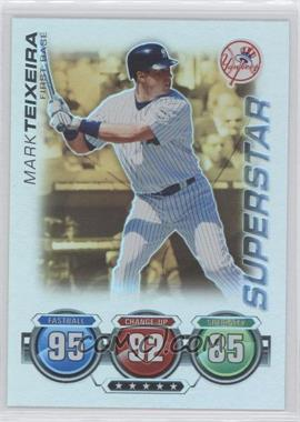 2010 Topps Attax - [Base] - Gold Foil #MATE - Mark Teixeira