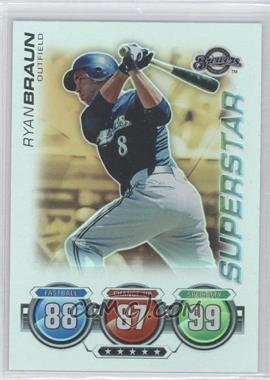 2010 Topps Attax - [Base] - Gold Foil #RYBR - Ryan Braun