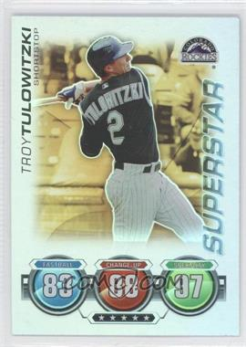2010 Topps Attax - [Base] - Gold Foil #TRTU - Troy Tulowitzki