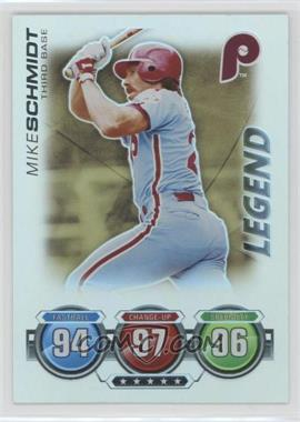 2010 Topps Attax - Battle of the Ages - Foil #MISC - Legend - Mike Schmidt