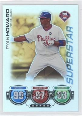 2010 Topps Attax - Battle of the Ages - Foil #RYHO - Superstar - Ryan Howard