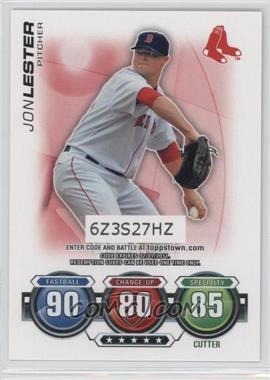2010 Topps Attax - ToppsTown Code Cards #JOLE - Jon Lester