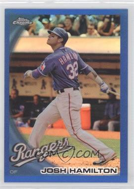 2010 Topps Chrome - [Base] - Blue Refractor #57 - Josh Hamilton /199