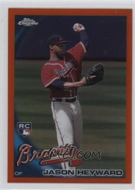 2010 Topps Chrome - [Base] - Orange Refractor #174 - Jason Heyward
