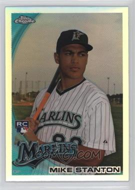 2010 Topps Chrome - [Base] - Refractor #190 - Giancarlo Stanton