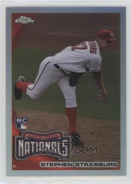 2010 Topps Chrome - [Base] - Refractor #212 - Stephen Strasburg