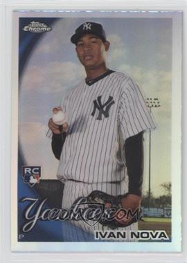 2010 Topps Chrome - [Base] - Refractor #214 - Ivan Nova