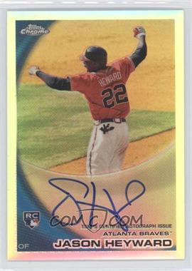 2010 Topps Chrome - [Base] - Rookie Autographs Refractor #174 - Jason Heyward /499