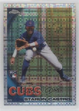 2010 Topps Chrome - [Base] - X-Fractor #195 - Starlin Castro
