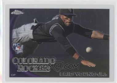 2010 Topps Chrome - [Base] #171 - Eric Young Jr.