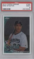 Giancarlo Stanton (Mike on Card) [PSA 9 MINT]