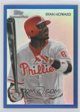 2010 Topps Chrome - National Chicle Chrome - Blue Refractor #CC13 - Ryan Howard /199