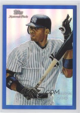 2010 Topps Chrome - National Chicle Chrome - Blue Refractor #CC17 - Robinson Cano /199