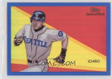 2010 Topps Chrome - National Chicle Chrome - Blue Refractor #CC47 - Ichiro Suzuki /199