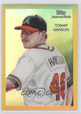 2010 Topps Chrome - National Chicle Chrome - Gold Refractor #CC37 - Tommy Hanson /50