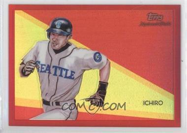 2010 Topps Chrome - National Chicle Chrome - Red Refractor #CC47 - Ichiro Suzuki /25