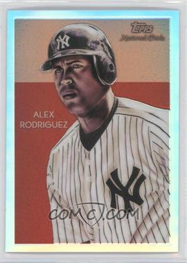 2010 Topps Chrome - National Chicle Chrome - Refractor #CC21 - Alex Rodriguez /499