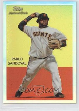 2010 Topps Chrome - National Chicle Chrome - Refractor #CC33 - Pablo Sandoval /499