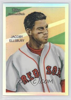 2010 Topps Chrome - National Chicle Chrome - Refractor #CC8 - Jacoby Ellsbury /499