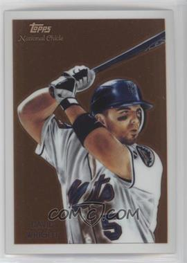 2010 Topps Chrome - National Chicle Chrome #CC11 - David Wright /999