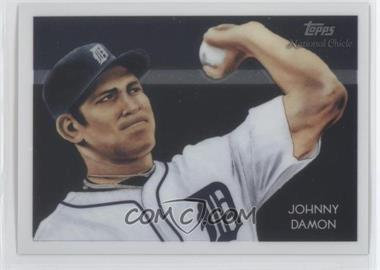 2010 Topps Chrome - National Chicle Chrome #CC16 - Johnny Damon /999