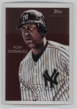2010 Topps Chrome - National Chicle Chrome #CC21 - Alex Rodriguez /999