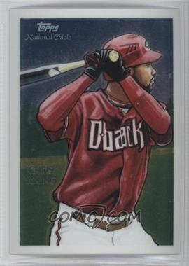 2010 Topps Chrome - National Chicle Chrome #CC40 - Chris Young /999
