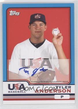 2010 Topps Chrome - Team USA Autographs #USA-1 - Tyler Anderson