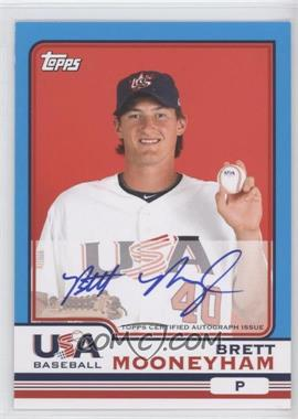 2010 Topps Chrome - Team USA Autographs #USA-14 - Brett Mooneyham